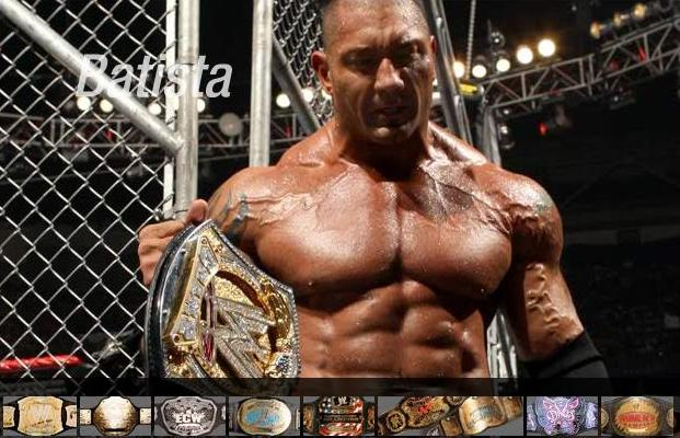 Batista campeon WWE